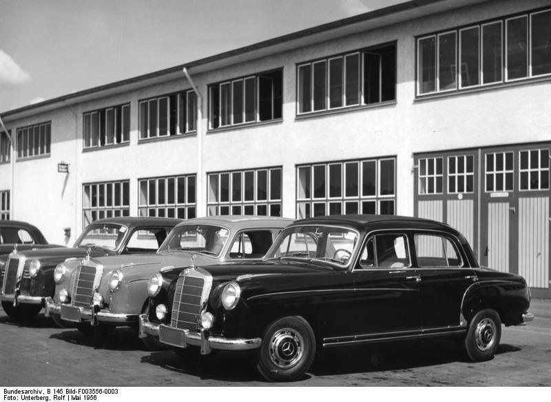 Mercedes Benz Ponton Overview And Production Data 169 Www
