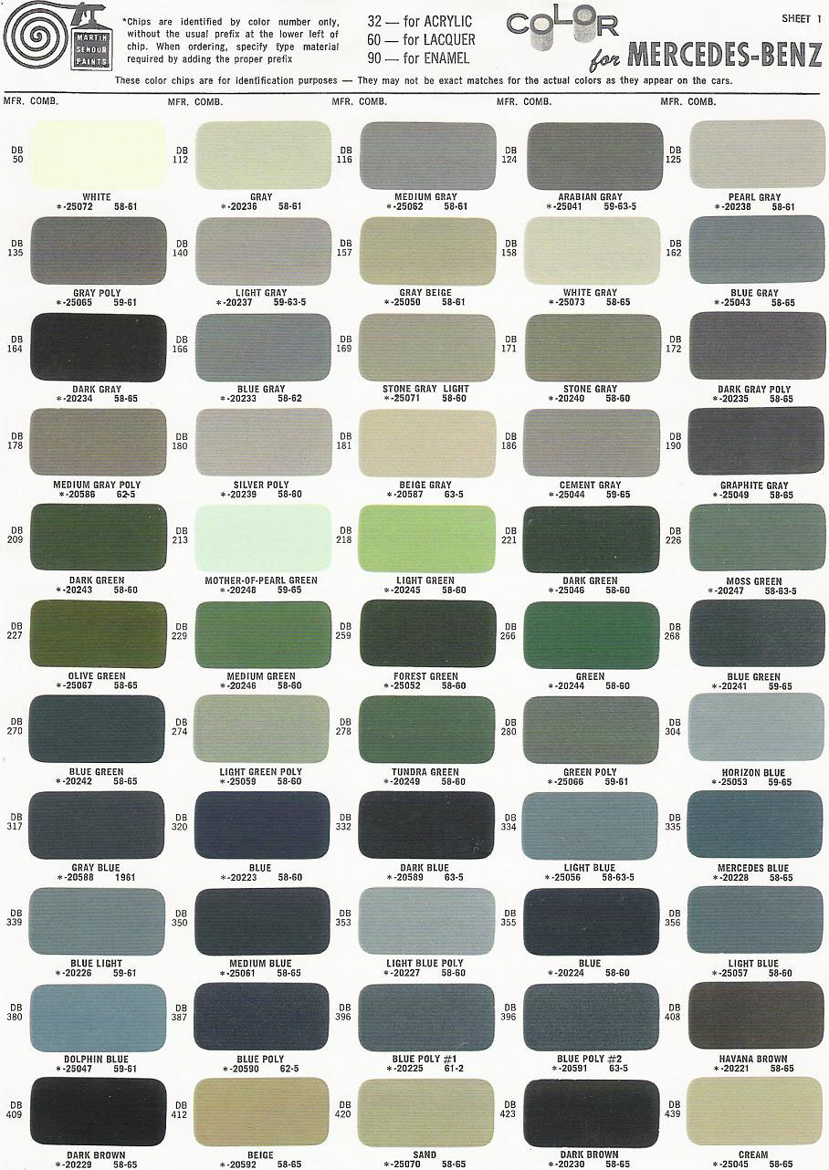 the mercedes benz color codes for navigation See a list of 2016 mercedes-benz e-class factory interior and exterior colors find out what body paint and interior trim colors are available.